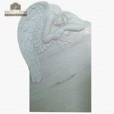 Скульптура ангела из мрамора №106 — ritualum.ru